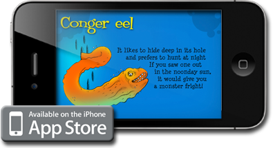 Shaun Tomson - Apple iPhone application & Apple iPad application - Surf Creatures is Tomson's first children's book, which is available digitally on the iPhone and iPad. It introduces young readers to 26 of the ocean's most fierce and friendly creatures—each of which Tomson has personally encountered on his many aquatic adventures. Some of the animals featured in the book also reside at the National Zoo, including the octopus and the jellyfish.